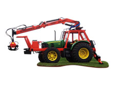 Grua / Carregador Florestal – HBF 6000 T